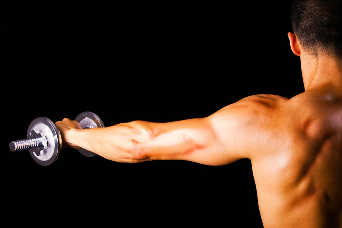 Как правильно качать мышцы плеч?
