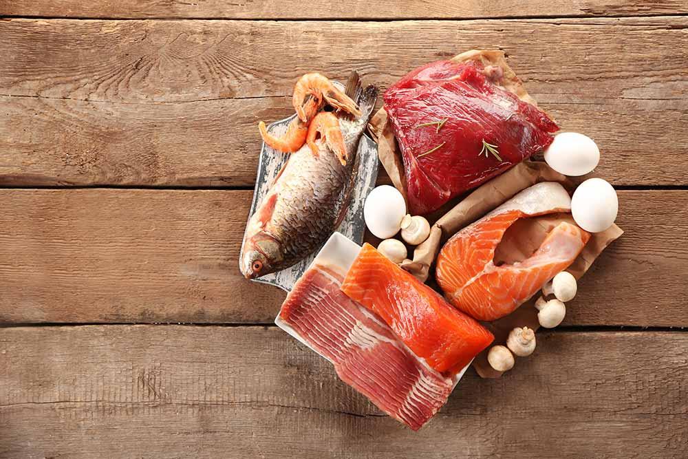 Продукты питания с белком и коллагеном