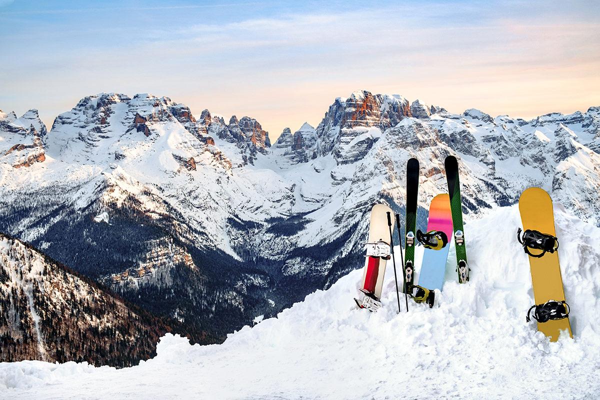 Лыжи для здоровья: беговые или горные?