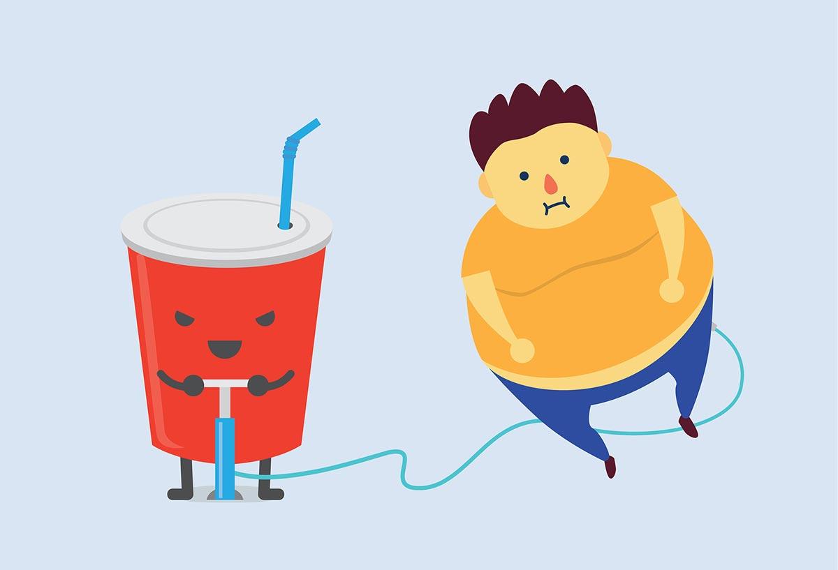 Питание и набор подкожного жира
