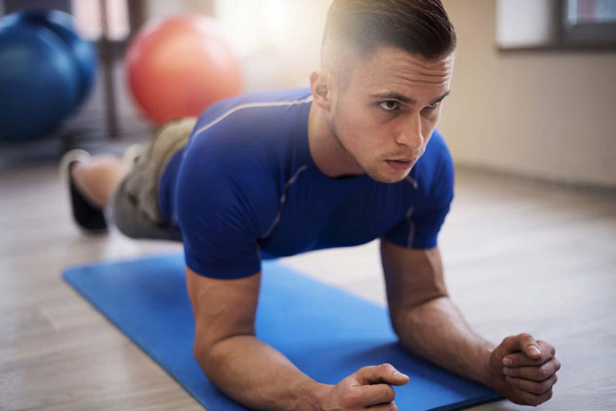 Плюсы упражнения планка