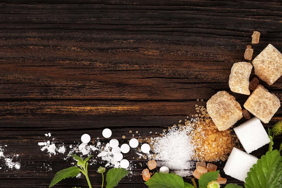 Сахарозаменители и сахар