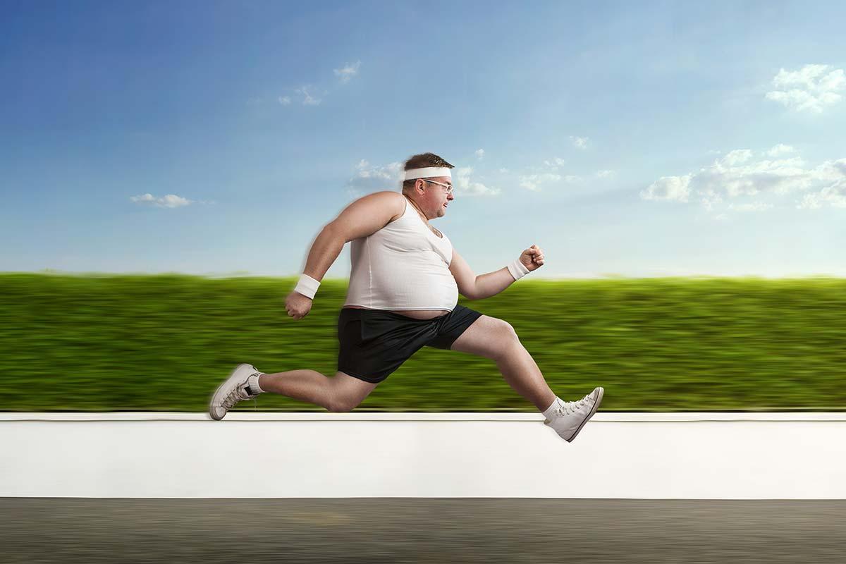 Бег для борьбы со внутренним жиром