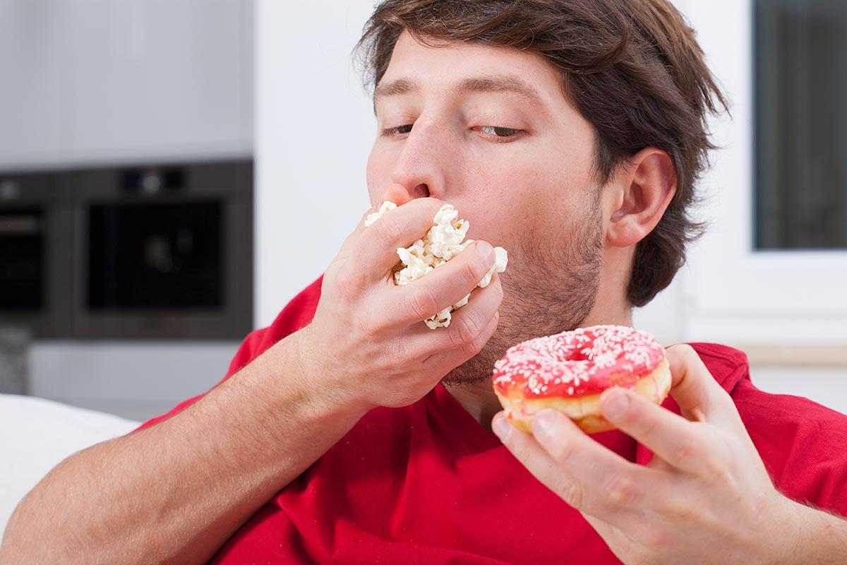 Сколько еды и углеводов нужно съедать за раз?