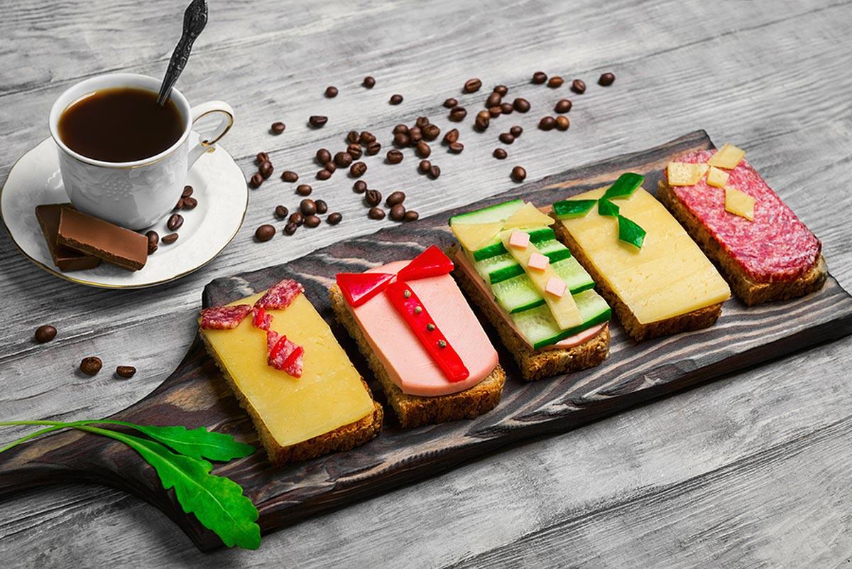 Что входит в состав континентального завтрака?