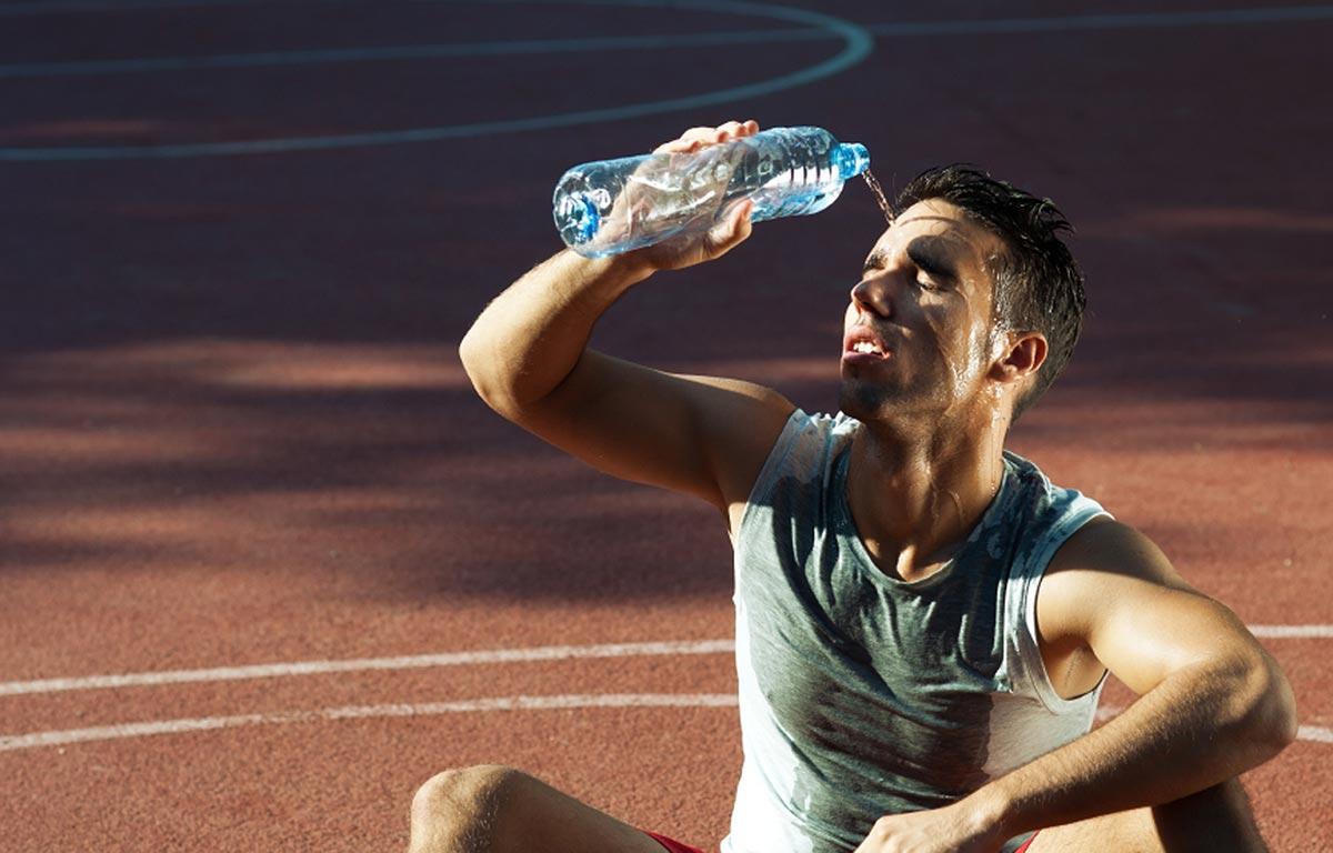 Спортивные напитки для бегунов