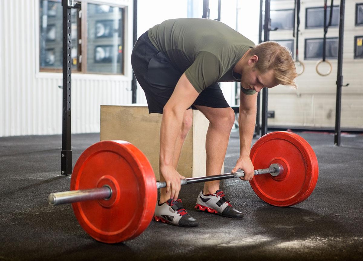 Становая тяга —ошибки в упражнении