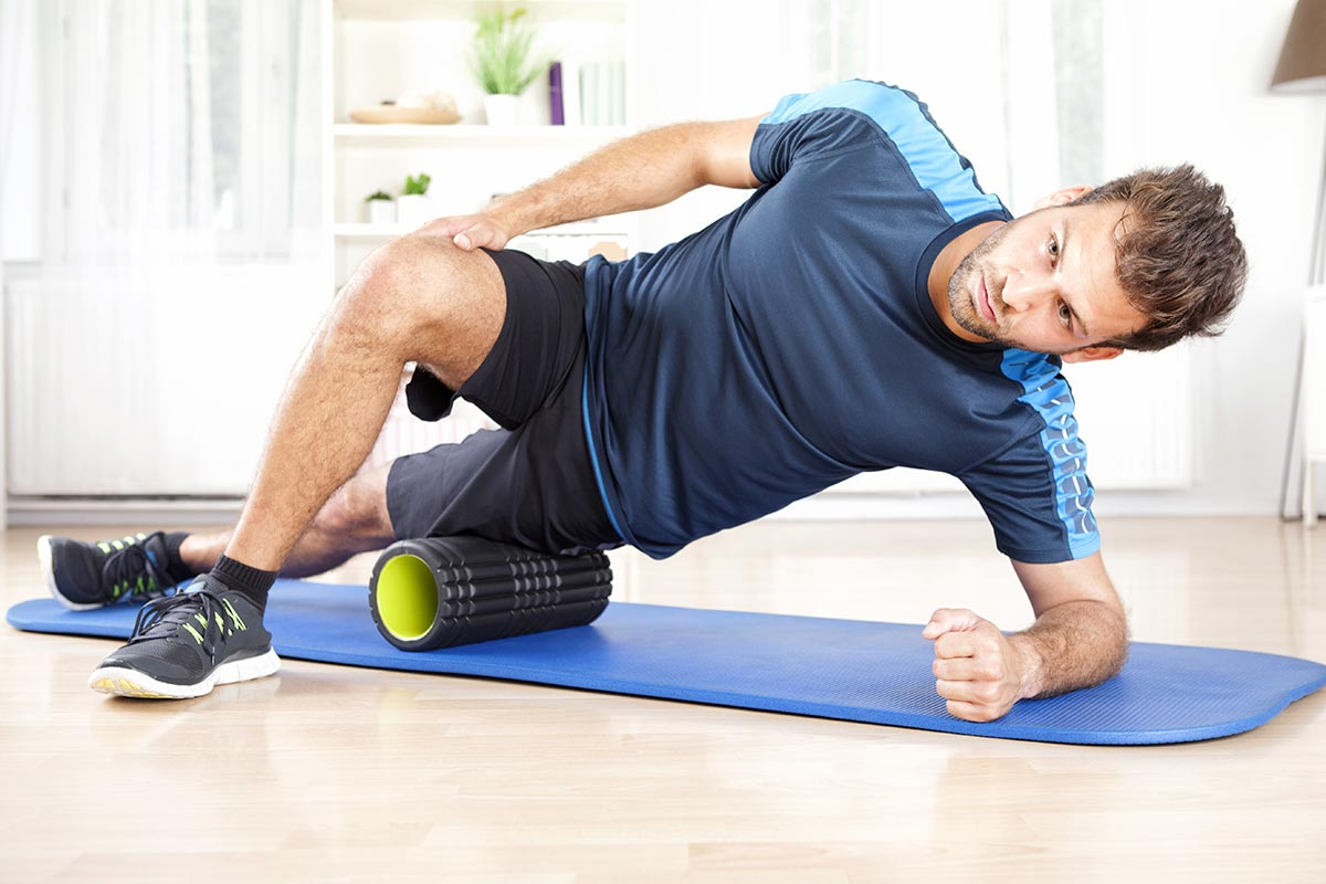 Массажный ролик для восстановления мышц